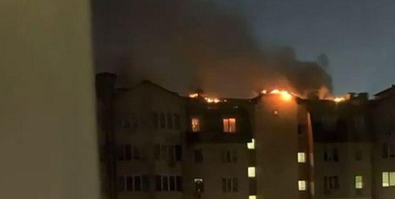 На Софіївській Борщагівці згоріло кілька квартир