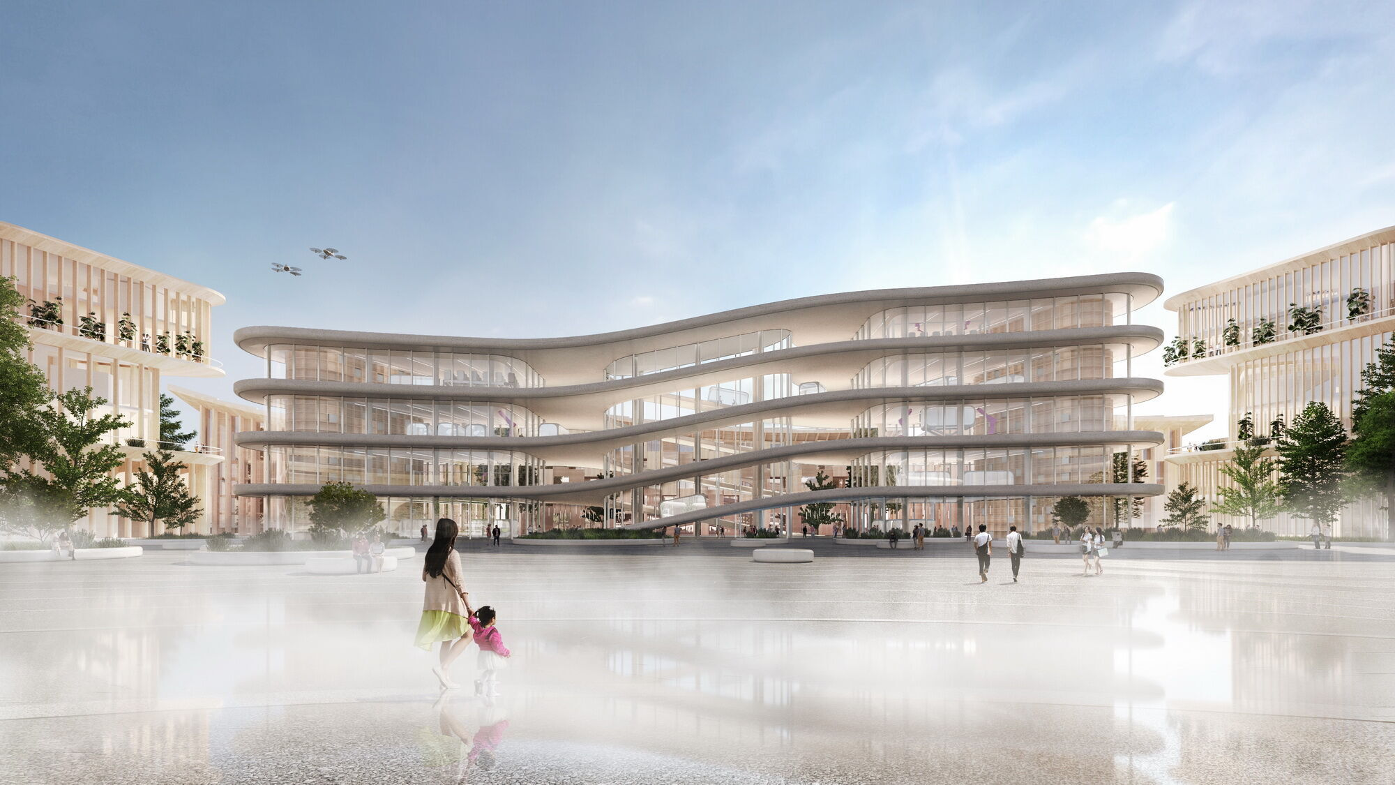 """По словам президента Toyota """"Woven City – это ориентированность на человека, живая лаборатория и город, который постоянно развивается"""