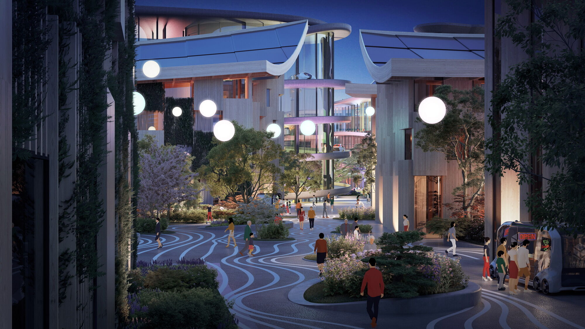 В Woven City первоначально будет примерно 360 жителей