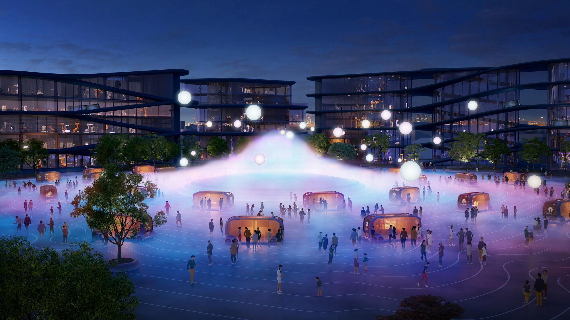Впервые Toyota объявила о проекте строительства Woven City на выставке CES 2020 в Лас-Вегасе