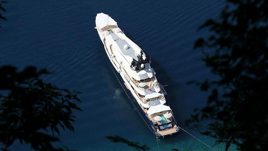 Яхта Стивена Спилберга Seven Seas оценивается в 200 миллионов долларов