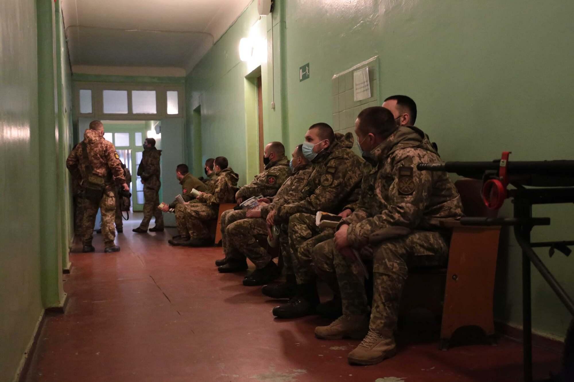 Вакцинація військових на Луганщині