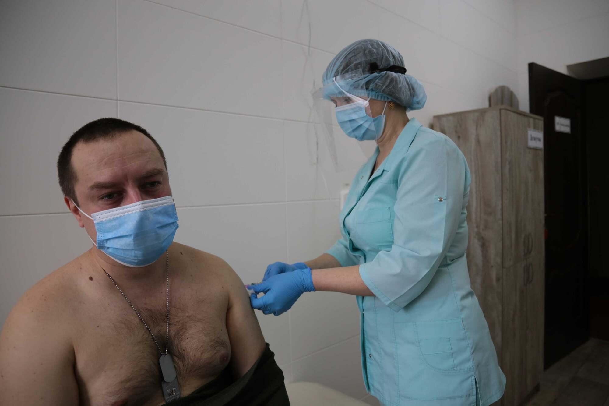 Вакцинація в Луганській області