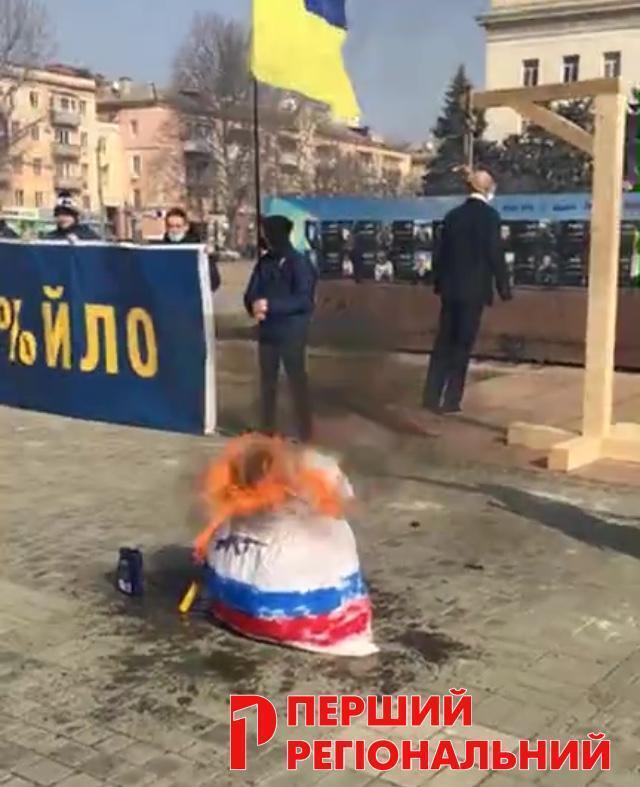 Матрьошка на площі Свободи