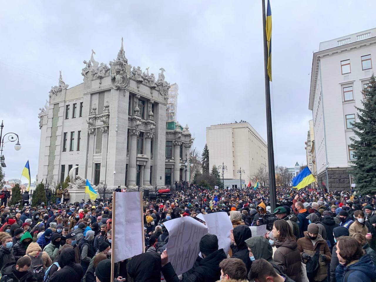 Акція в столиці в суботу, 27 лютого