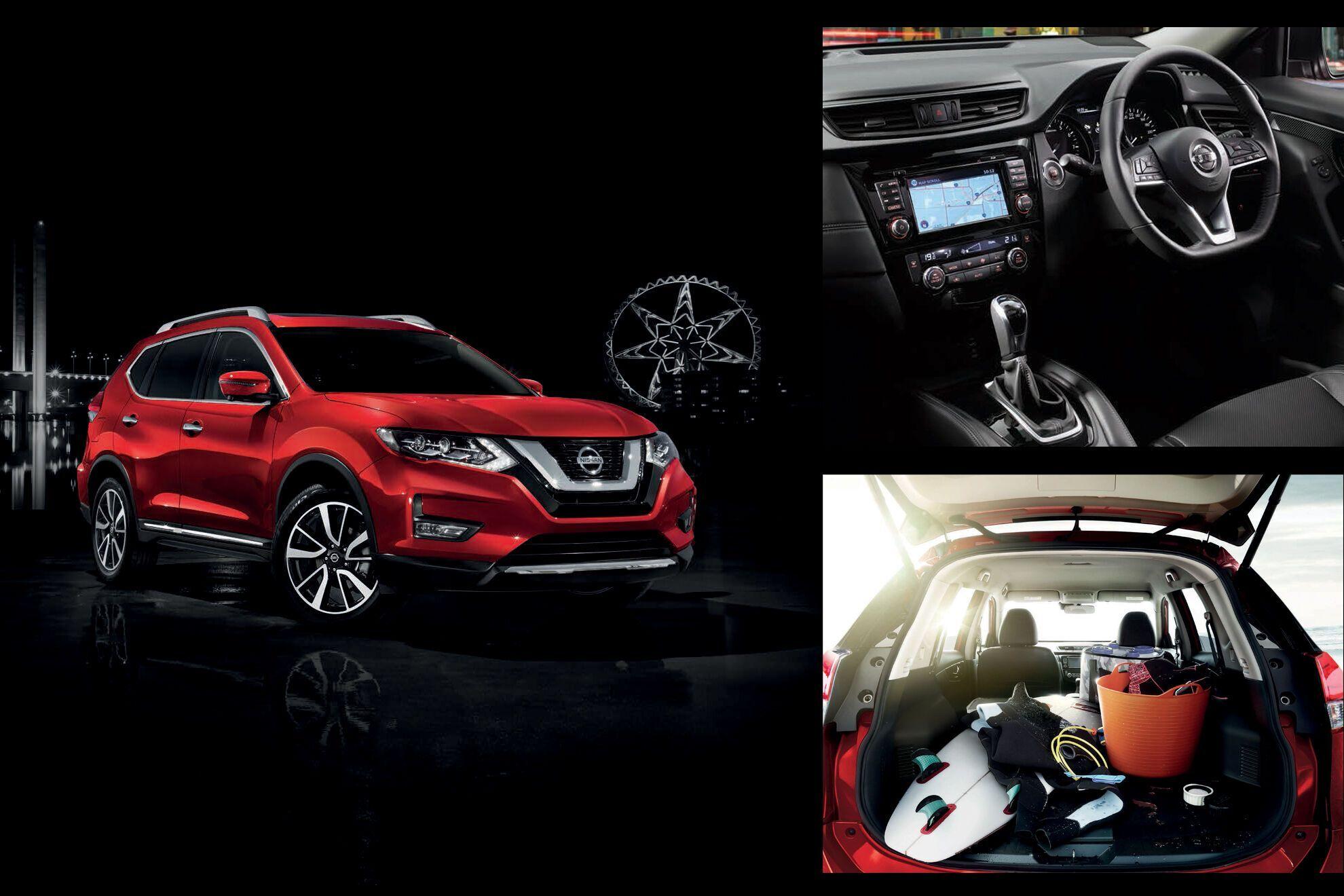 Nissan обновил для рынка Австралии популярный кроссовер X-Trail