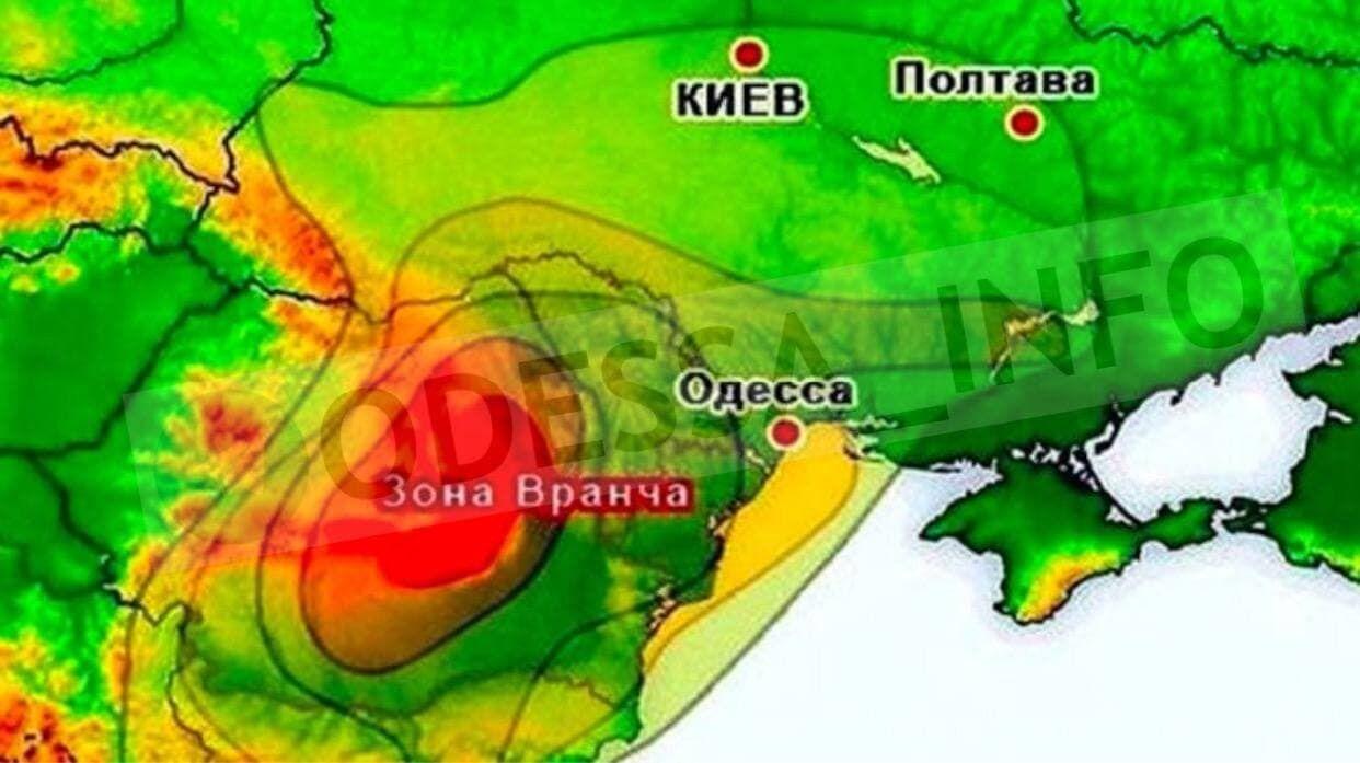 """Сейсмічна зона Вранча зараз """"заблокована"""""""