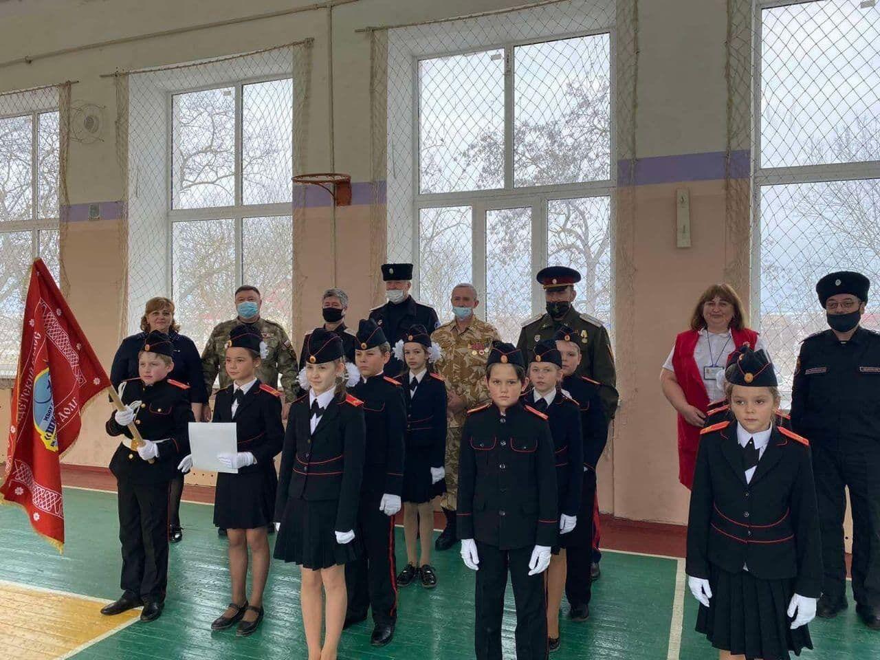 Дітей готують до служби в збройних силах РФ