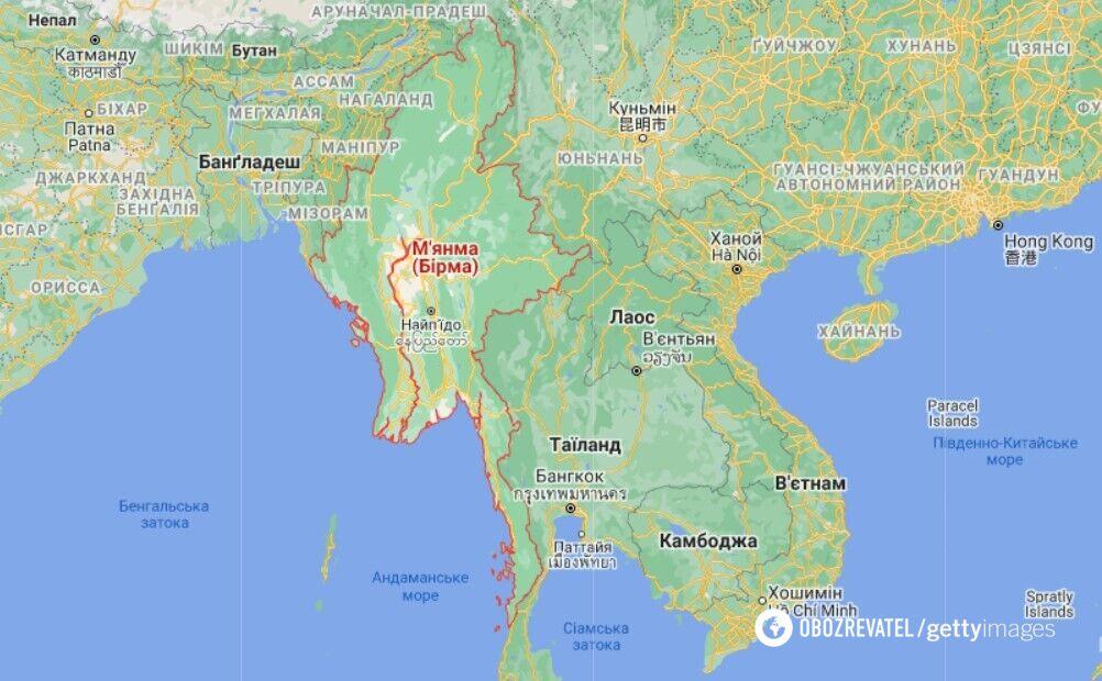 На протестах у М'янмі силовики застосували зброю, є загиблі. Фото та відео