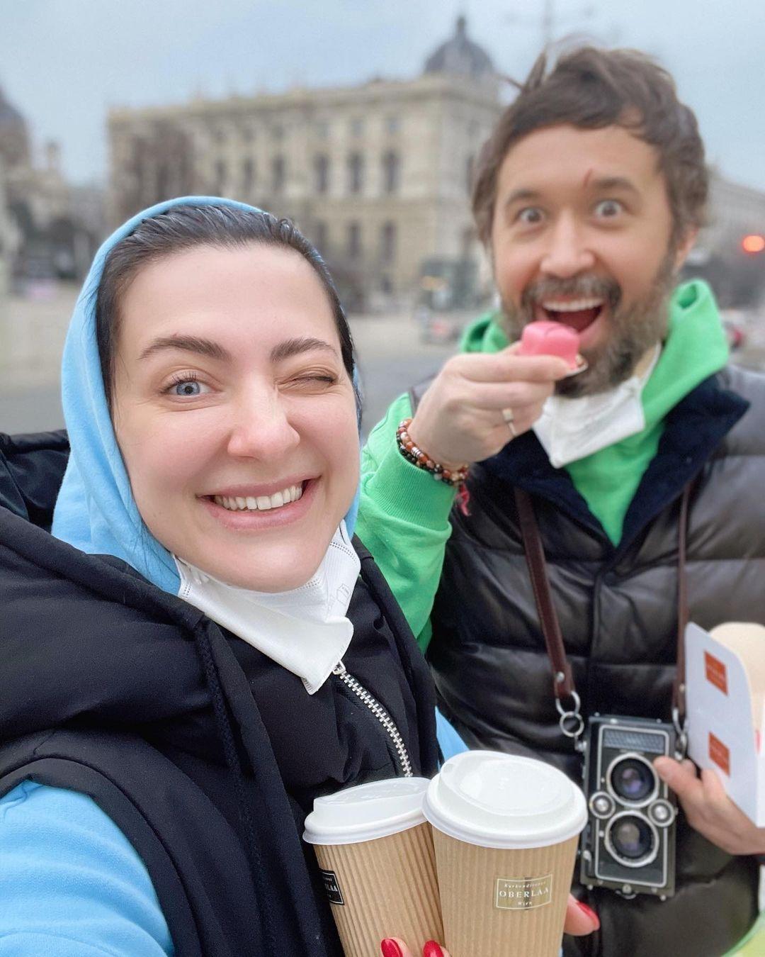 Снежана и Сергей Бабкины