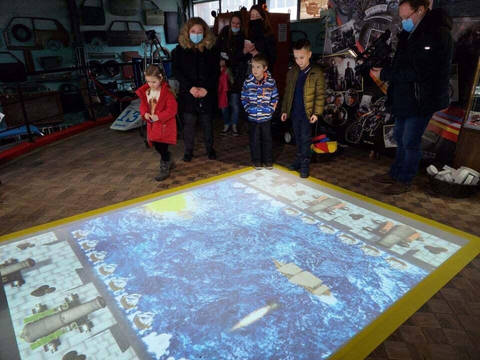 Впровадження інтерактивної підлоги у музейний простір стане першою спробою серед музеїв міста
