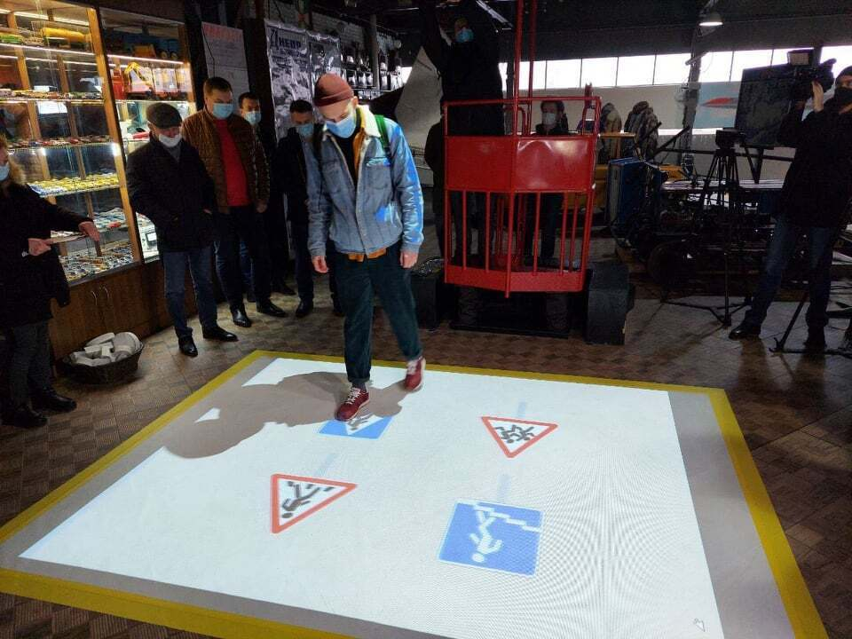 Граючи, відвідувачі зможуть вивчати правила дорожнього руху