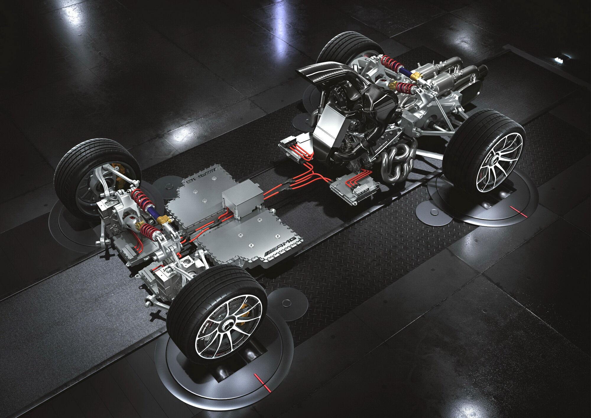 Project ONE имеет в своем арсенале гибридную силовую установку мощностью свыше 1000 л.с.
