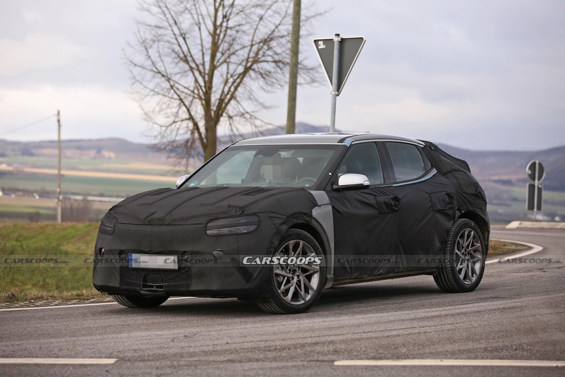 У Німеччині помітили дослідний зразок першої електричної моделі бренду Genesis
