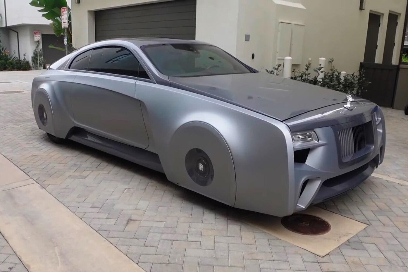 Унікальний автомобіль Джастіна Бібера