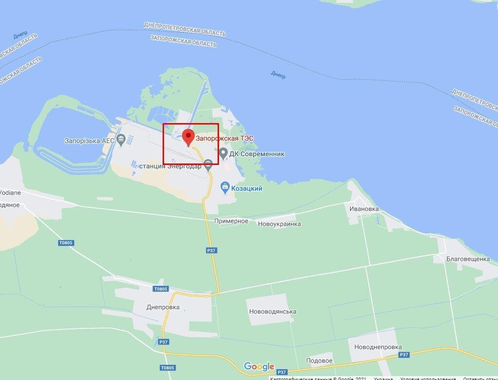 Аварія сталася на Запорізькій ТЕС.