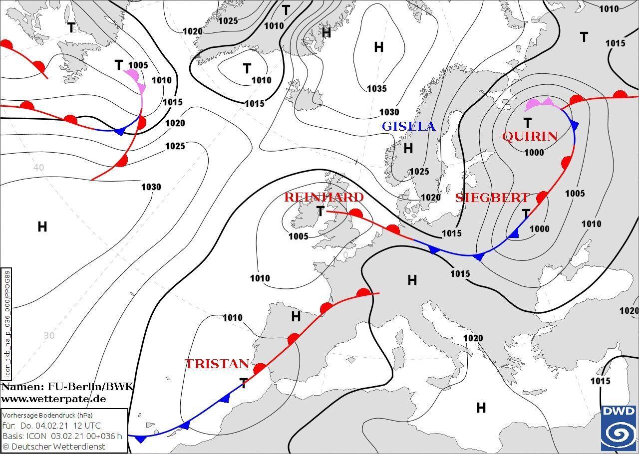 В Україну увірветься циклон з атмосферними фронтами
