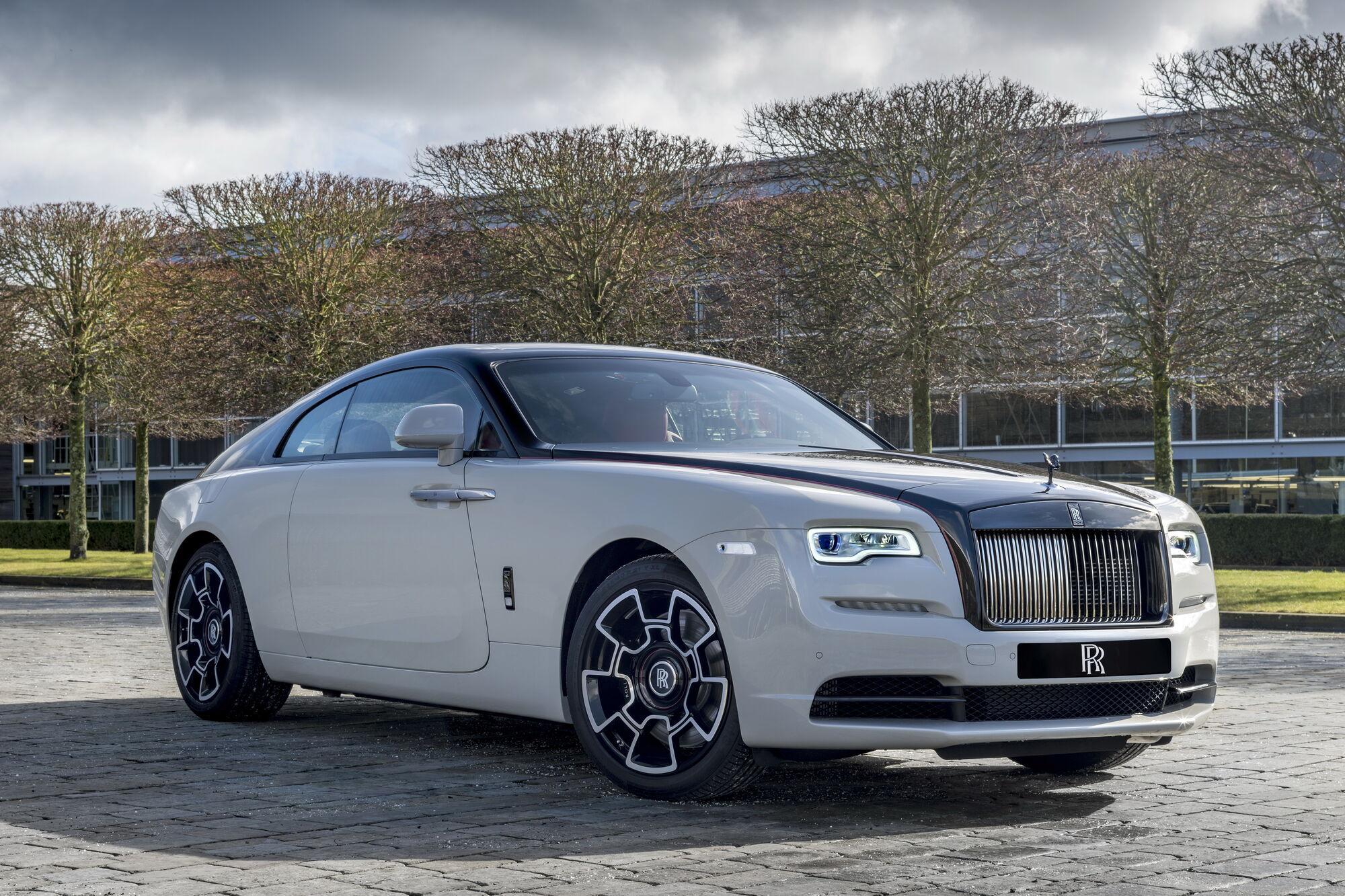 """""""Донором"""" для проєкту став Rolls-Royce Wraith"""