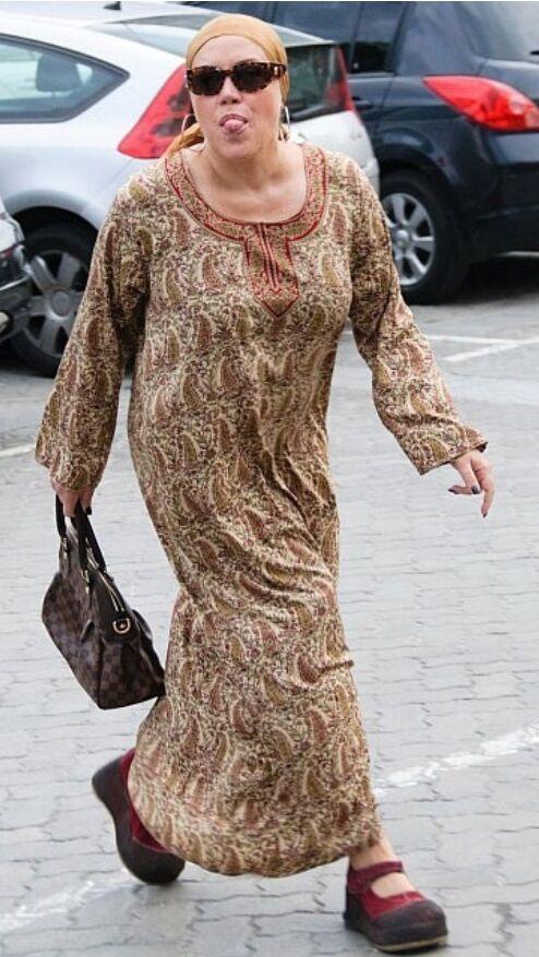Оксана Байрак носила такі сукні з гордістю