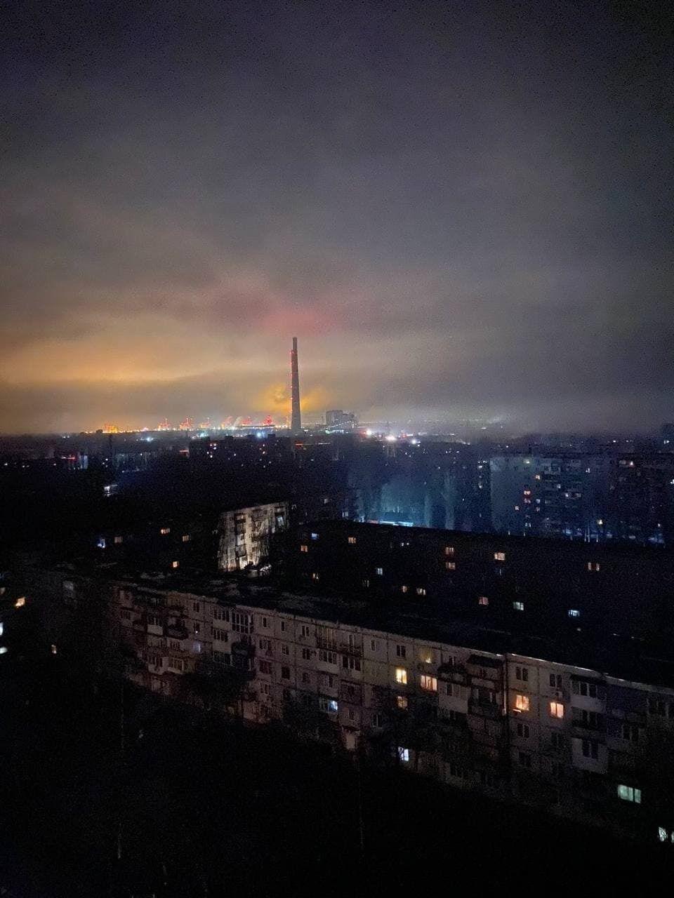 Аварія на Запорізькій ТЕС.