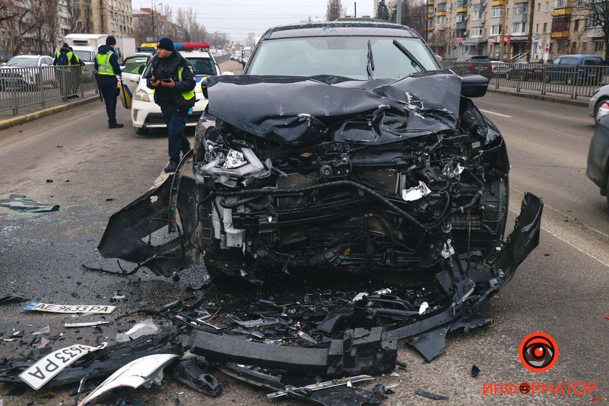 В ДТП пострадали оба автомобиля.