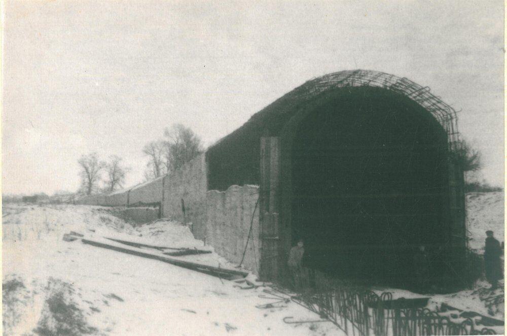Строительство одного из тоннелей