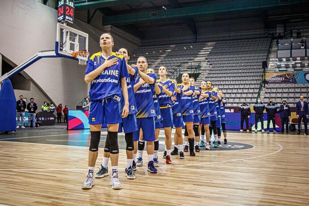 Жіноча збірна України з баскетболу перед грою