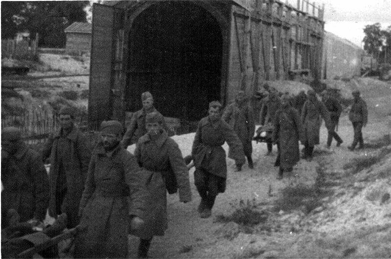 В 1941 тоннели затопили