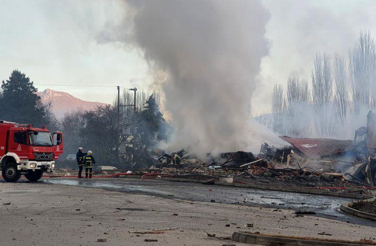 Місце вибуху готелю Tsamis