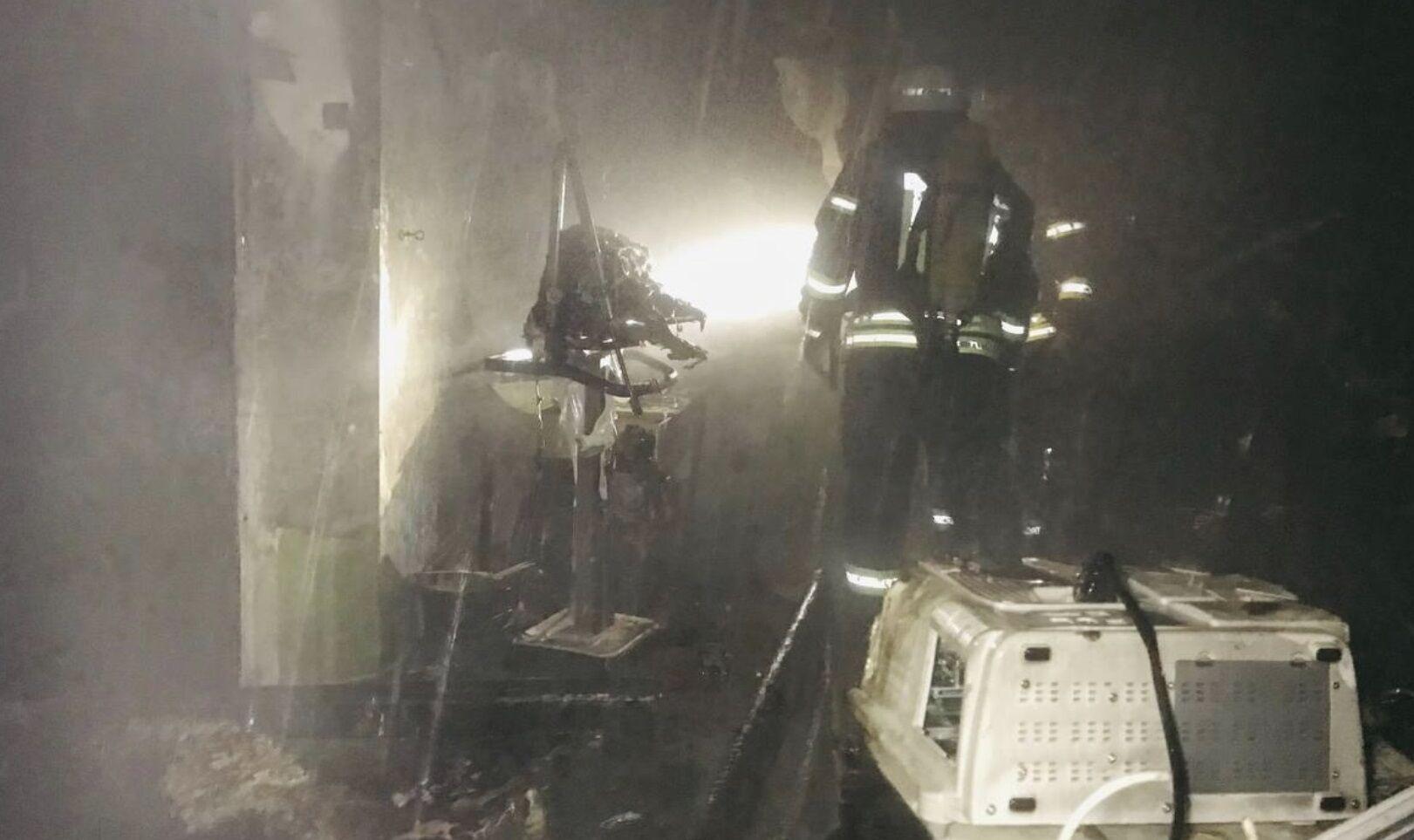 Наслідки пожежі в лікарні Запоріжжя.