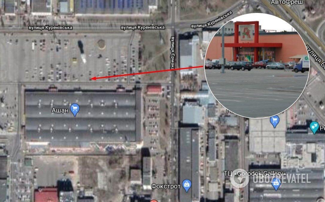 Автомобиль исчез с парковки на проспекте Степана Бандеры