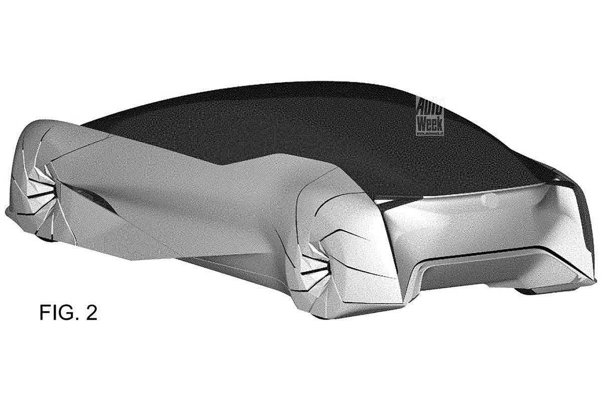 Двери автомобиля могут открываться с помощью разъема у передних колес