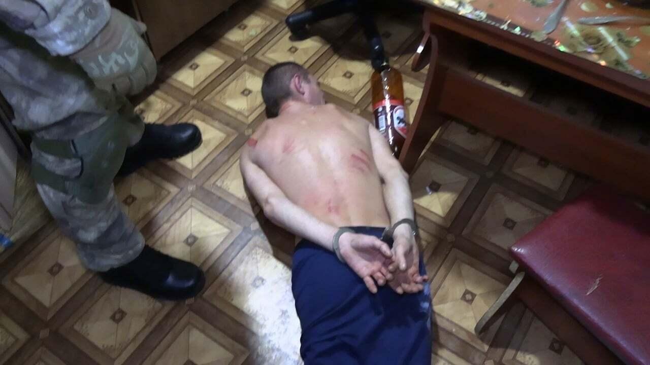 Подразделение КОРД задержало рецидивиста в Виннице, который угрожал взорвать гранаты.