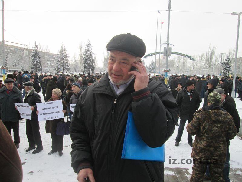 Захаров активно добивался справедливой пенсии для ветеранов МВД