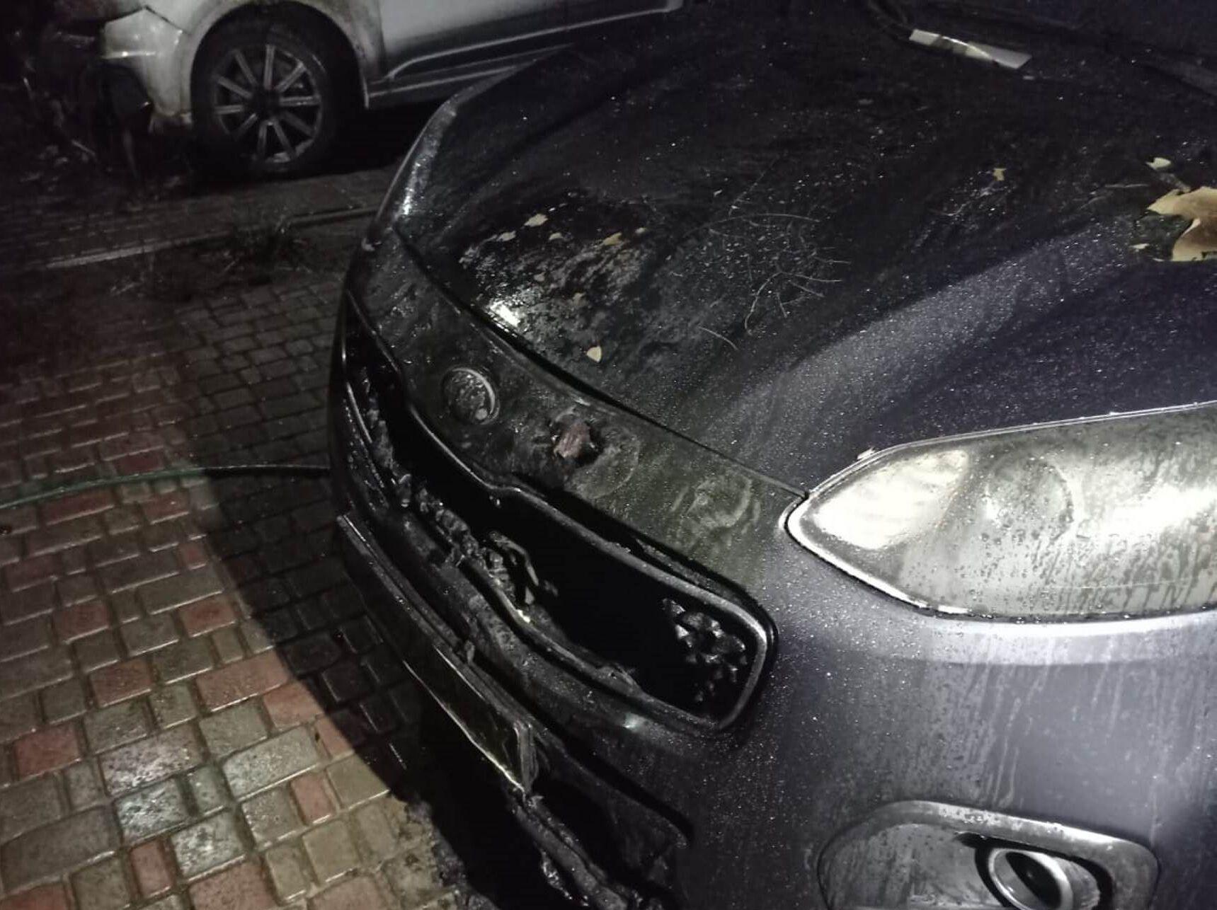 Автомобиль с повреждениями