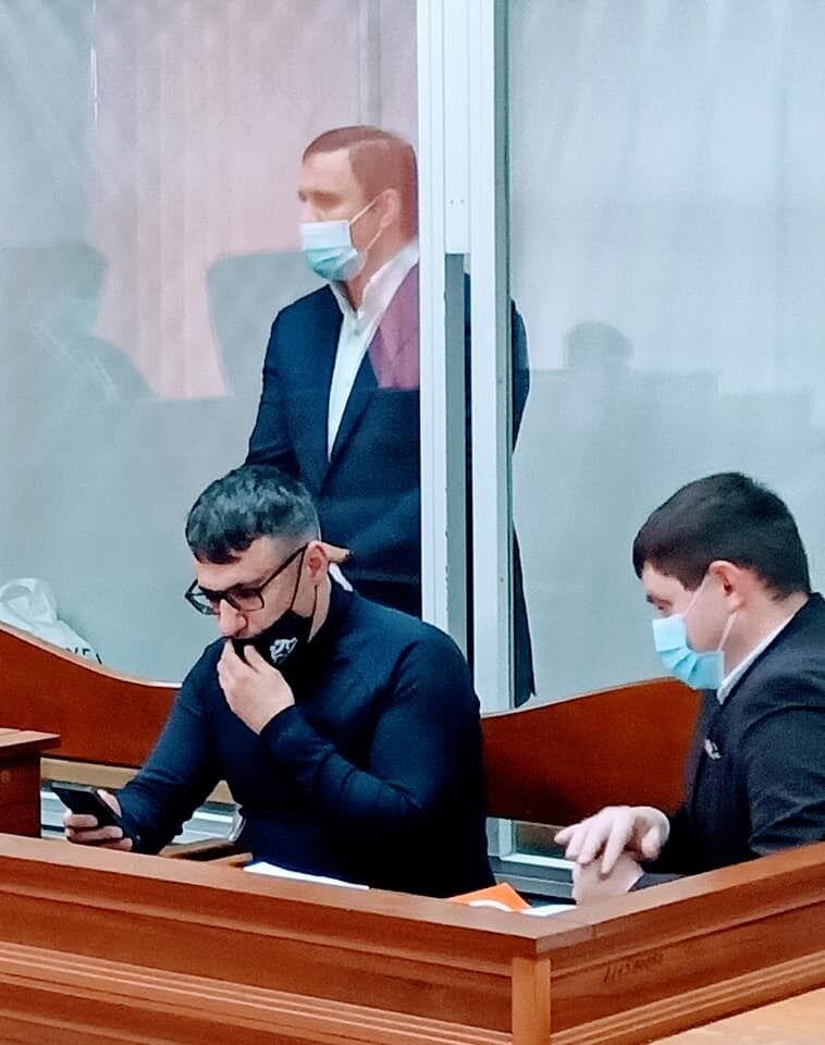 Микитась в суде