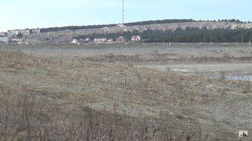 У Криму пересохло Сімферопольське водосховище