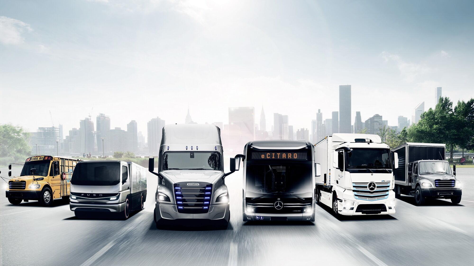 Daimler Truck сконцентрує свої зусилля на випуску вантажних автомобілів і автобусів