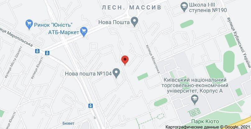 Первое нападение произошло на ул. Милютенко (Лесной массив)