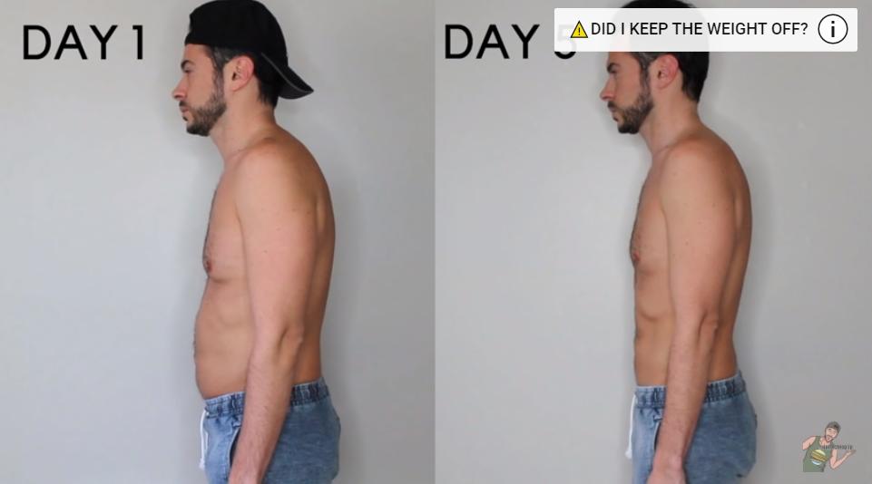Водная диета: фото до и после эксперимента.