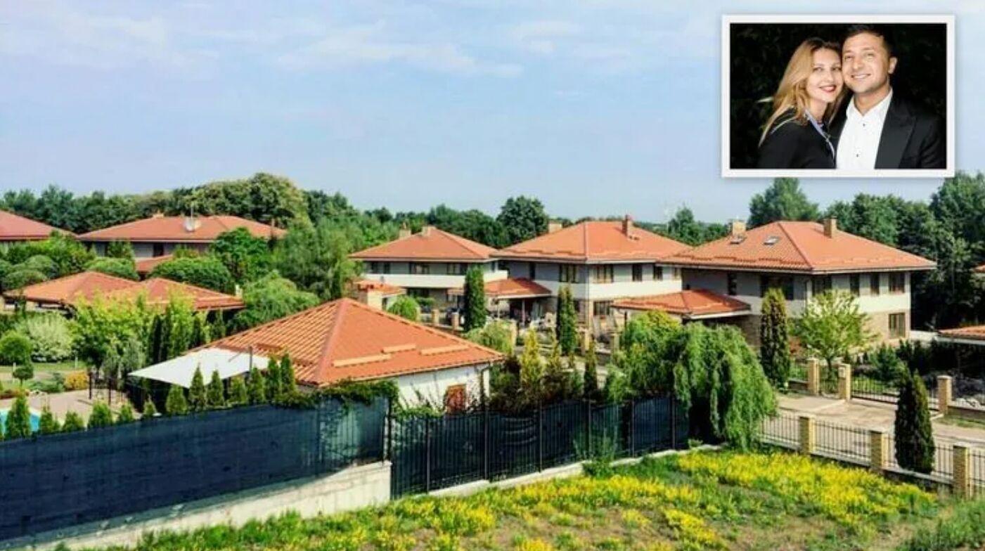 Площа заміського маєтку Зеленського – 353 кв.м.