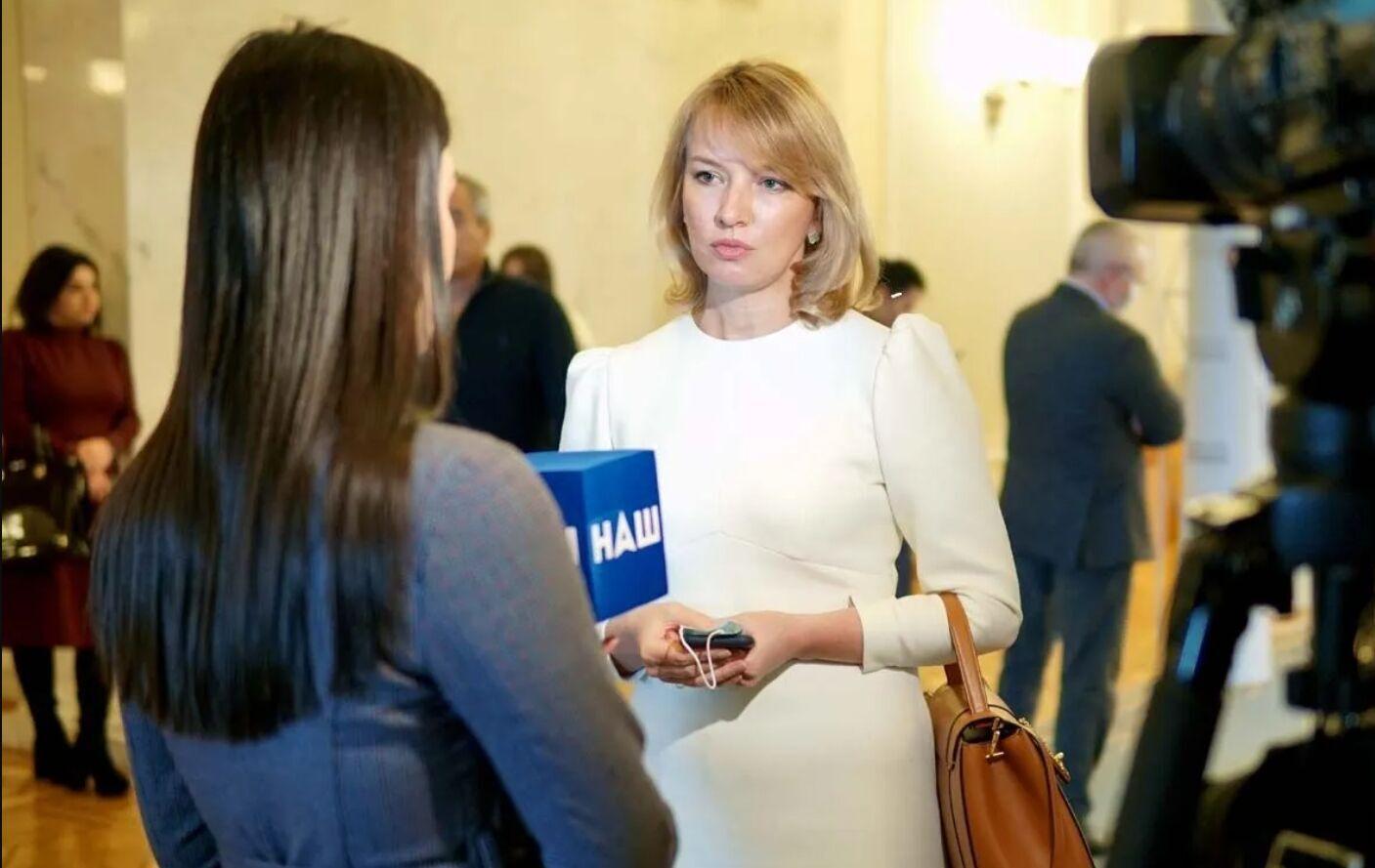 Образ Олени Шуляк у Верховній Раді України