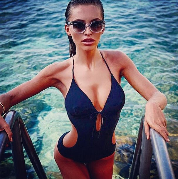Алессия Тедески – новая девушка Роналду.