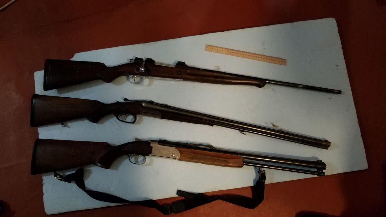 Вилучена зброя