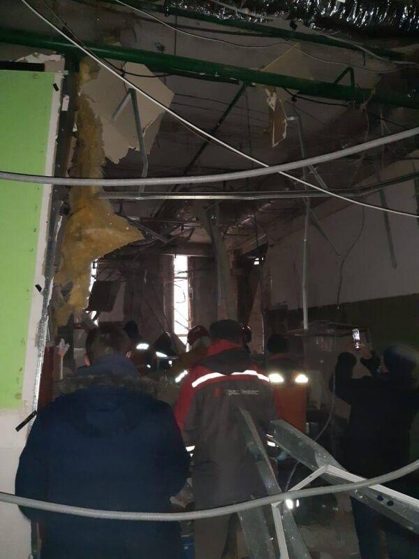 При взрыве никто не пострадал