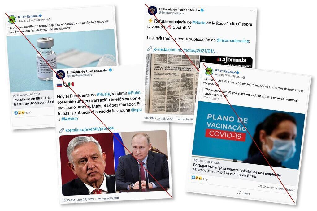 Кампания по дезинформация была развернута в соцсетях.
