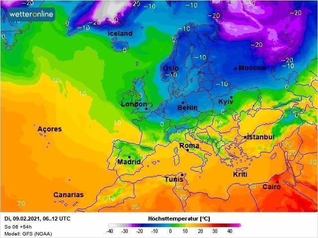 В Украину придет циклон с юго-запада Европы