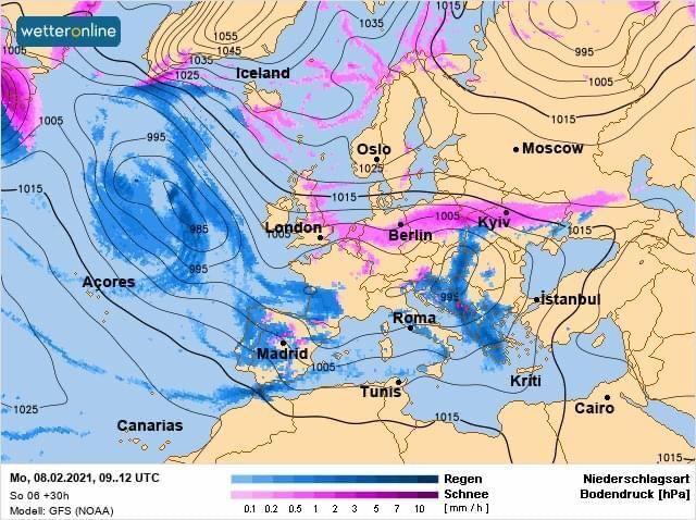 Южный циклон принесет с собой метели, снегопады и гололедицу