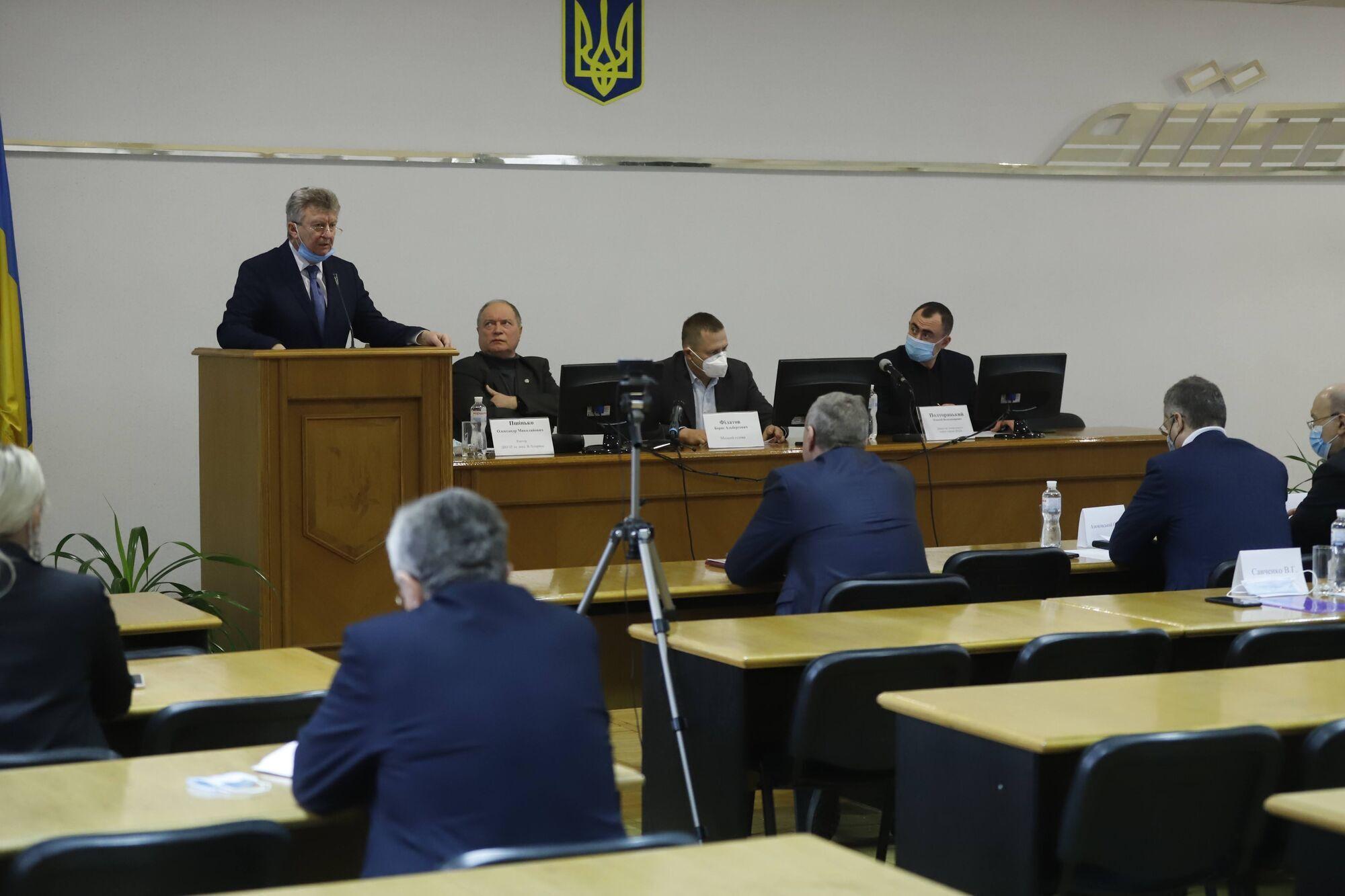 Заседание совета ректоров