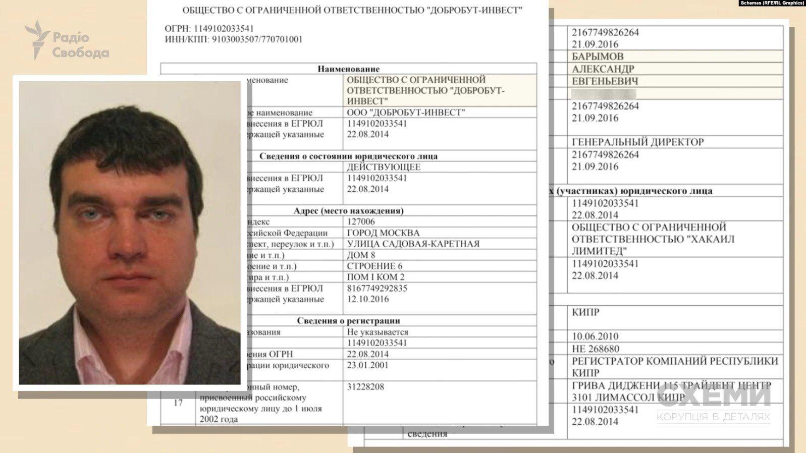 """Директором і одноосібним власником компанії """"ЗЕД Девелопмент"""" є Олександр Баримов"""